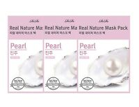 RIRE Real Nature Mask Sheet Pack Pearl - 3pcs