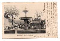 21 - cpa - VITTEAUX - Place de la fontaine   (J131)