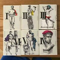 Used Japanese Comics Complete Set Thermae Romae Bath Boom Ancient Rome vol. 1-6