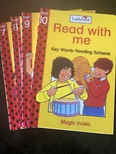Used Ladybird Read With Me Books 7, 8, 9 & 10 Set