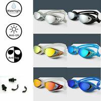 Swimming Goggles Anti Fog UV Protection Adults Swim Diving Goggles Sport Glasses