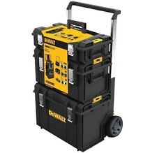DeWALT DWST1-81052 Toughsystem Tower / Tool Storage Box on Wheels Trolley