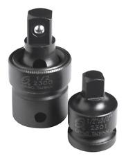 """Sunex 2pc 1/2"""" Drive Impact Universal Joint Adapter Swivel Sockets Set 2300SE"""