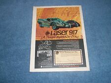 LASER 917 N°4461 photo d'epoque constructeur