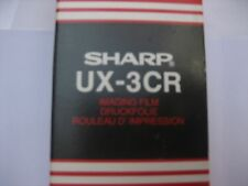 Sharp ux3cr Sharp ux310 Pellicola laminatura un ruolo