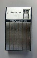 Rare Vintage REALTONE 6 Transistor Radio, Model TR-1628, AM Band Only 1963 Works