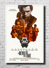 D-147 The Devil All the Time TV 2020 Show Art Silk Poster 27x40 24x36