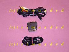 Chinchkabel AV/TV & SCART-Adapter & Stromkabel (Euro-8-Buchse) PS1/PS2-Konsolen