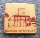 WW2 MUSEUM STUTTHOF SZTUTOWO HOLOCAUST GERMAN CONCENTRATION CAMP RARE PIN BADGE