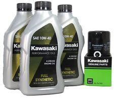 13-17  Kawsaki NINJA 300 Full Synthetic Oil Change Kit