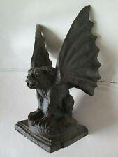 """Gothic gargoyle winged dog cat? figure 6 1/2"""" mystical magic Decor"""