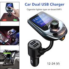 1*Car Cigarette Lighter Socket Dual USB Charger Transmitter Bluetooth Interface
