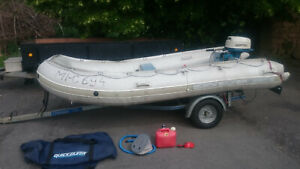 QUICKSILVER QS 380 E SCHLAUCHBOOT  Speedboot