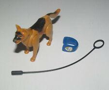 Playmobil Accessoire Décor Animal Lot Chien Policier + Laisse NEUF
