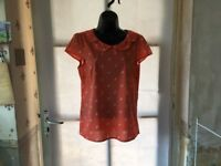 Papaya Ladies Cute Horse Print Tunic Size 10, Beautiful Design, Lovely Condition