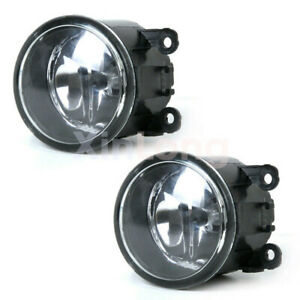 2* Drive Side Fog Light Lamp + H11 Bulbs 55w Right & Left Side Car Accessories