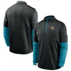 New Nike NFL Jacksonville Jaguars 1/2 Zip Sideline Pullover Mens Medium $85 NWT