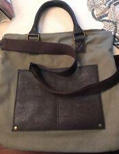 Benetton Green/Brown Crossbody Bag