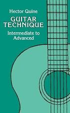 Guitar Technique : Intermediate to Advanced by Hector Quine (1990, UK-Paperback)