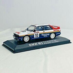 """Altaya BMW M3 1/43 Scale Model Car """"Tour de Corse"""" 1987 B. Beguin - J.J. Lenne"""