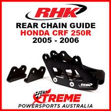 RHK Honda CRF250R CRF 250R 2005-2006 Black Alloy Rear Chain Guide CG02-K