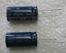 10 pcs NIC 3300uF 25V NRSA Series Very Low ESR radial Electrolytic Capacitors