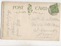 Whittington Barracks Lichfield Single Ring 13 Nov 1914 WW1 Postmark 451b