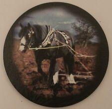 Horse - Equestrian - Heavy Horse - Coaster - Welsh Slate