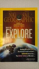 National Geographic, January, 2013  / 125th Anniversary