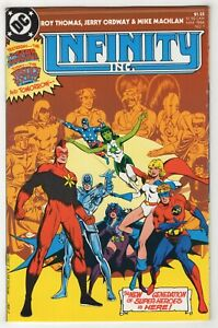 Infinity, Inc. #1 (Mar 1984, DC) [Justice Society] Roy Thomas, Jerry Ordway cz