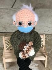Bernie Sanders Mittens Doll Crochet Pattern - Instant Digital Download