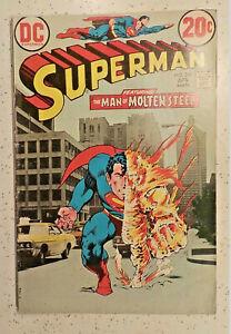 Superman #263 ! DC 1973 ! SWANDERSON ! NEAL ADAMS & JACK ADLER COVER  hayfamzone