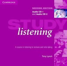 Study Listening Audio CD Set (2 CDs): A Course in Listening to Lectures and Note