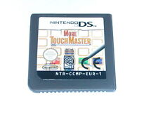 Spiel: MORE TOUCH MASTER (Modul) Nintendo DS + Lite + Dsi + XL