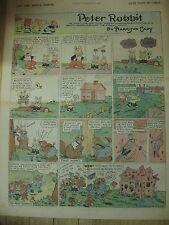 Vintage 1928 Ny Herald Tribune Newspaper Comic Section Cady Hoover Byrnes Voight