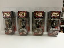Star Wars episodio 1 DIE-CAST Reloj Conjunto de 4
