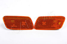 Genuine MERCEDES E-Class W210 96-03 USA type Side Turn Signal Marker Light Pair
