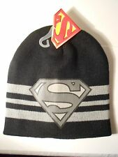 SUPERMAN Boy's Beanie/Hat/Knit Stocking Cap NEW w/tags - Justice League, Batman