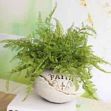 New Fern Fake Plant Artificial Leave Foliage Home Office Decor Decoration