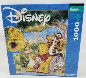 New Sealed Disney Photomosaic Winnie The Pooh And Friends 1000 piece Puzzle