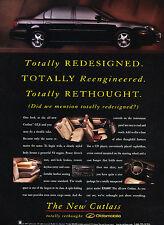 1997 Oldsmobile Cutlass GLS Original Advertisement Car Print Ad J351