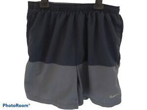 NIKE Running DRI-FIT Shorts Grey Size M AG
