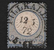 OPC 1872 Germany 2gr Small Shield #5 Pillkallen SON Cancel corner thin