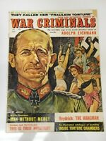 War Criminals Volume 1 #1 Men's Adventure Magazine GGA Gogos Nazi She Devil 1961