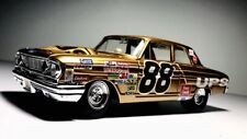Maisto 1964 Ford Fairlane gold Thunderbolt 1/24 Dale Jarrett custom made rare