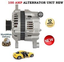 FOR Mazda RX8 1.3 ROTARY 2002-2012 NEW ALTERNATOR CHARGER 100 AMP UNIT