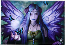 Mystic Aura Butterfly Fairy Fantasy Art By Anne Stokes Metal Fridge Magnet