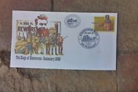 NED KELLY PSE  MT. PLEASANT STAGECOACH  POSTMARK 1986 CARRIED CACHET TO ADELAIDE