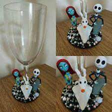 Nightmare Before Christmas Jack & Sally verre vin