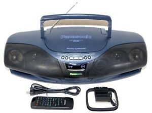 Panasonic RX-DT95 CD/Headphone Jack/Cassette/Radio Boombox MOSTLY WORKS